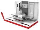 Horizontal machining centers with up-to-the-minute CNC conversational mode HR-70