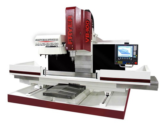 Vertical machining centers with conversational CNC control VB-120