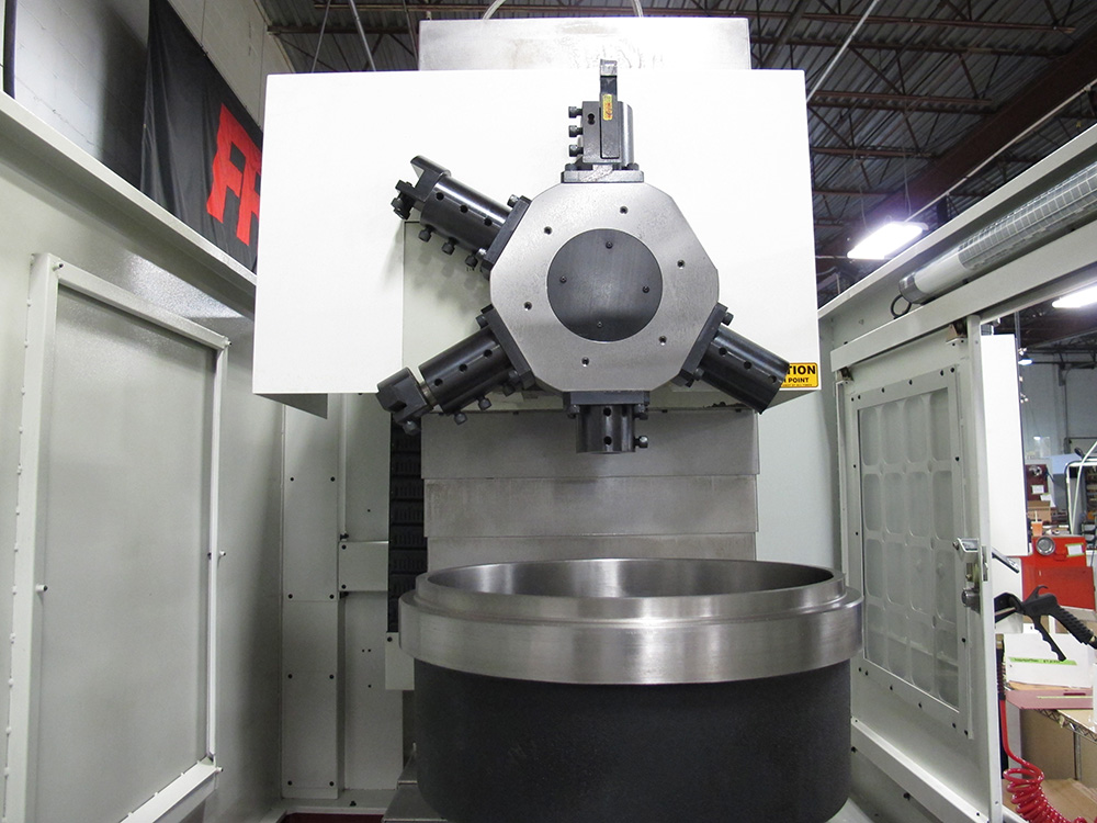 Vertical lathes with up-to-the-minute CNC conversational mode VT-40