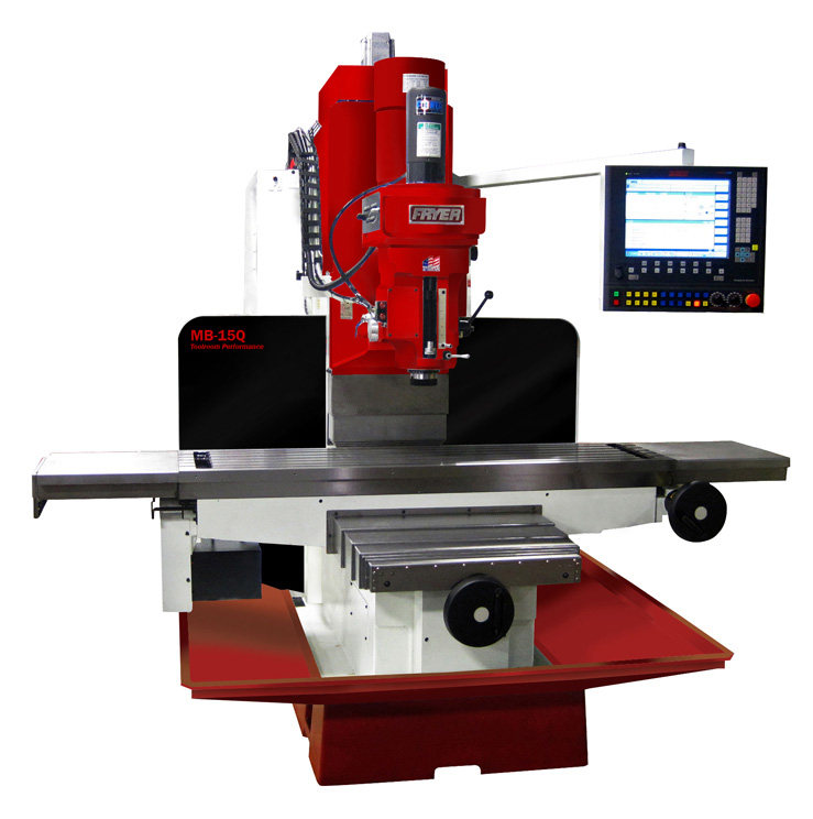 milling machine controls