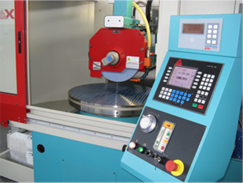Horizontal surface grinding machines with rotary table ROTAX 9