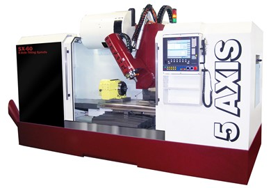 5-axis milling and machining centers with up-to-the-minute CNC conversational mode FRYER SX