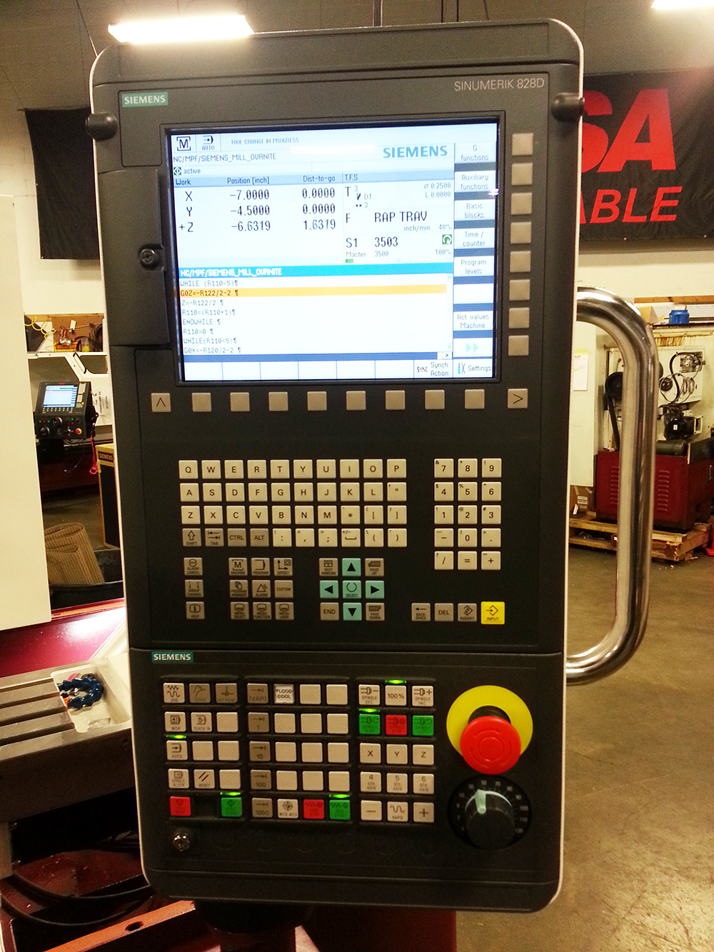 Vertical machining centers with conversational CNC control CM-15