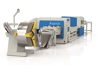 COMBINED PUNCHING MACHINE-LASER SYSTEM Dalcos ELXN combo