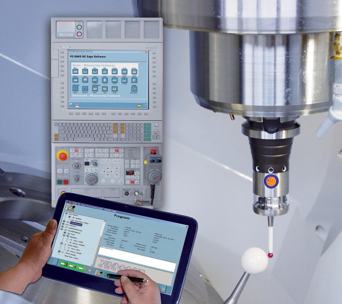 Программное обеспечение PC-DMIS как инструмент 3D печати