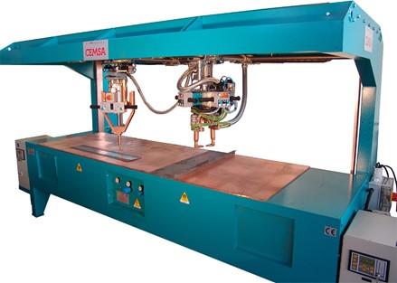ERW machine for spot and projection welding CEMSA ROOF