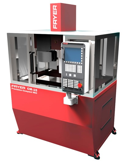 Vertical machining centers with conversational CNC control FRYER СМ