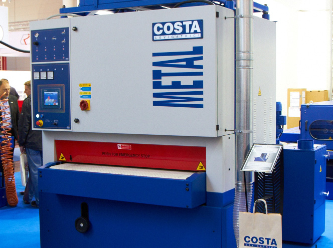 Universal multi-function machines for surface cleaning, grinding, and polishing COSTA MD6