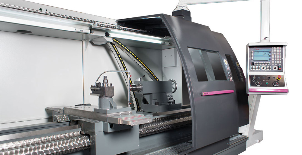 Horizontal precision turning centers with CNC ATL Heavy 600