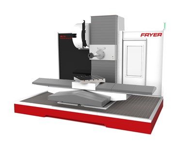 Horizontal boring mills with up-to-the-minute CNC conversational mode FRYER НB