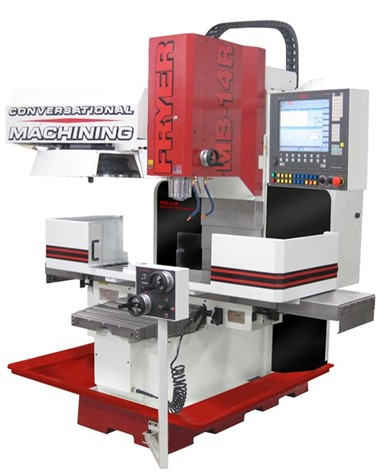 Toolroom milling machines with conversational CNC control FRYER MB-R